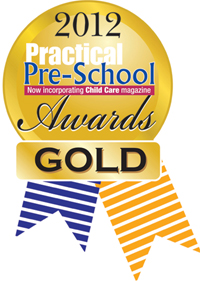 2012 Practical Pre School Gold Award