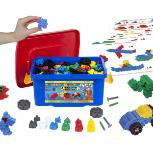 41041PW Junior Starter 400 set in Red Blue Tub