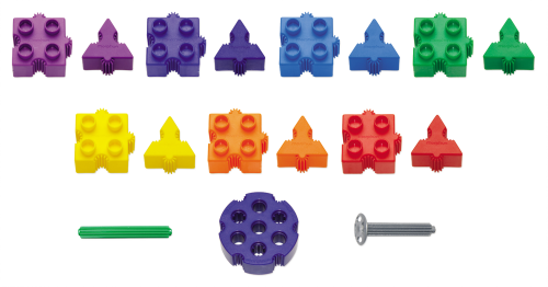 Morphun Junior Starter Rainbow Pieces