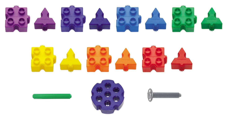 Morphun Junior Starter Rainbow Pieces