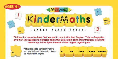 KinderMaths Leaflet