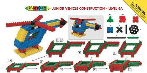 LT077 Instructions Junior Level 6A Thumbnail