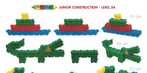 LT078 Instructions Morphun Junior Starter Level 3A Thumbnail