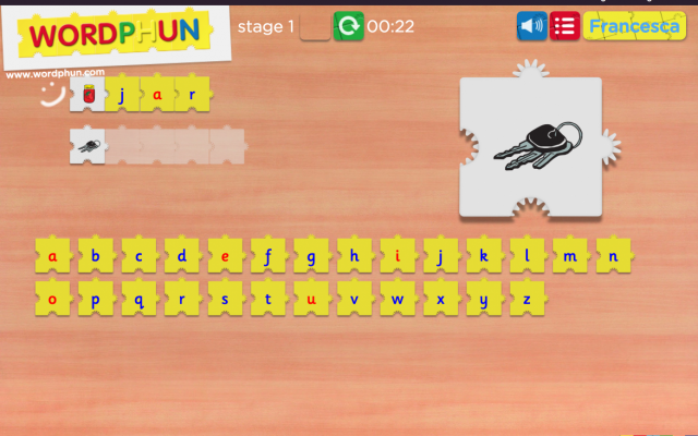 Morphun Education Games - Wordphun Screenshot