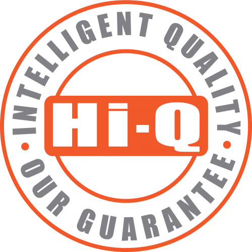 The Hi-Q Morphun Quality Guarantee logo