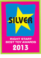 2013 Right Start Toy Award Silver - Advanced