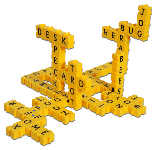 3DXWord 3D Game Pieces