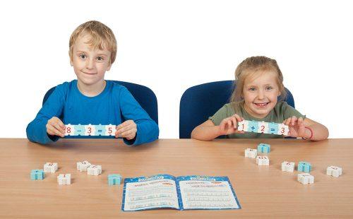 Morphun Mathsphun Maths Set with 2 kids