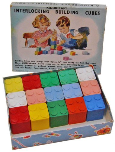 Kiddicraft Interlocking Cubes