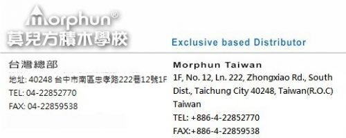 Taiwan Address