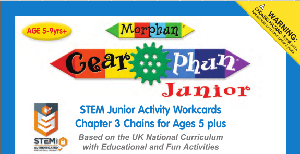LT393 V1 Morphun Gearphun Junior Activity Workcards Chapter 3 Chains