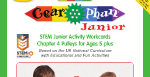 LT394 V1 Morphun Gearphun Junior Activity Workcards Chapter 4 Pulleys