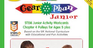 LT394 V1 Morphun Gearphun Junior Activity Workcards Chapter 4 Pulleys