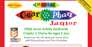 LT395 V1 Morphun Gearphun Junior Activity Workcards Chapter 5 Chains
