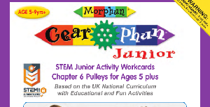 LT396 V1 Morphun Gearphun Junior Activity Workcards Chapter 6 Pulleys