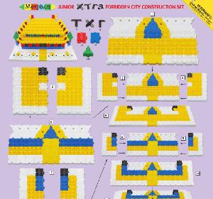 Junior Xtra Forbidden City Construction Set