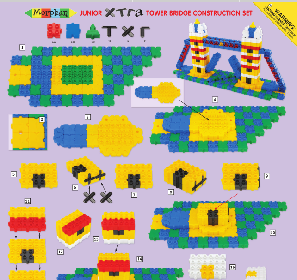 Junior Xtra Tower Bridge Construction Set