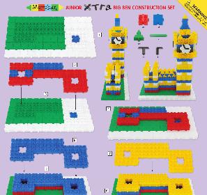Junior Xtra Big Ben Construction Set