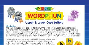 LT015 V4 Mixed Upper & Lower Case Letters